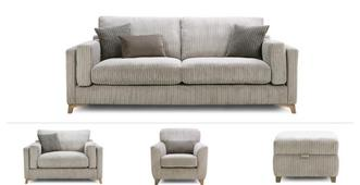 Nimbus Clearance 4 Seater, Cuddler, Accent Chair & Stool