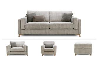 4 Seater, Cuddler, Accent Chair & Stool