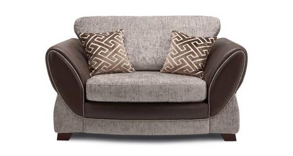 Nina Formal Back Cuddler Sofa