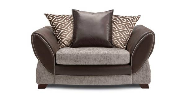 Nina Pillow Back Cuddler Sofa