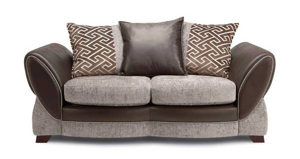 Nina Large 2  Seater Pillow Back Sofa