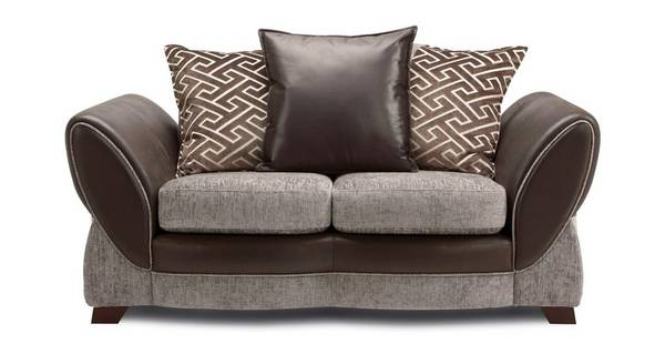 Nina Small 2  Seater Pillow Back Sofa