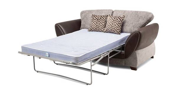 Nina Large 2 Seater Formal Back Deluxe Sofa Bed