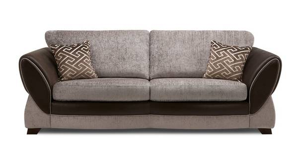 Nina 4 Seater Formal Back Sofa