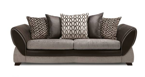 Nina 4 Seater Pillow Back Sofa
