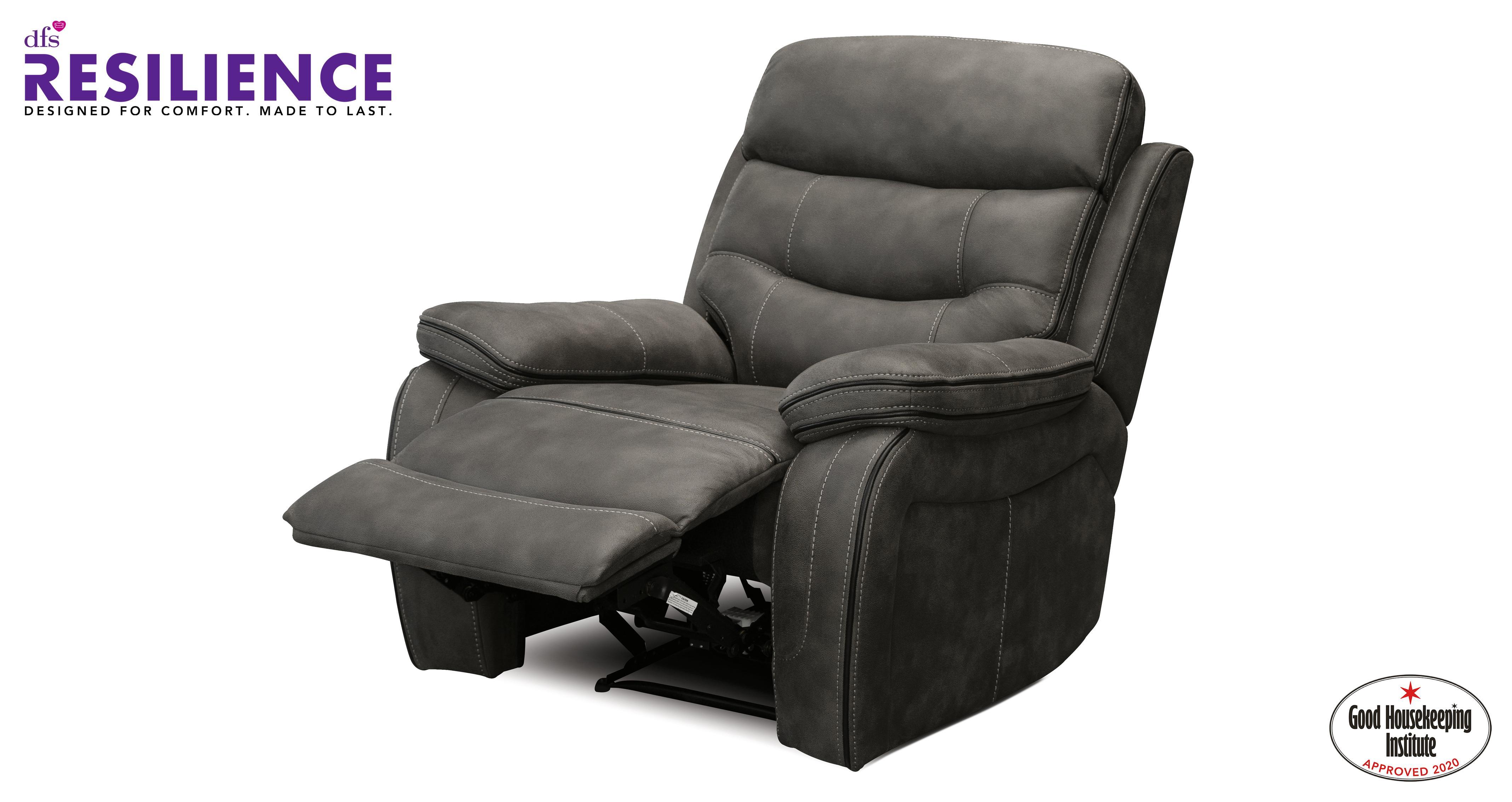 Noah Fabric Manual Recliner Chair