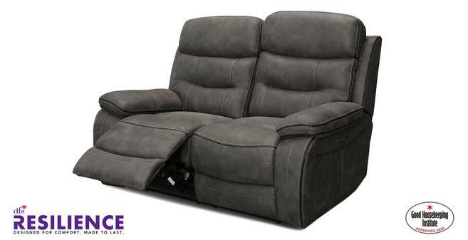 Astonishing Noah Fabric 2 Seater Power Recliner Sofa Uwap Interior Chair Design Uwaporg