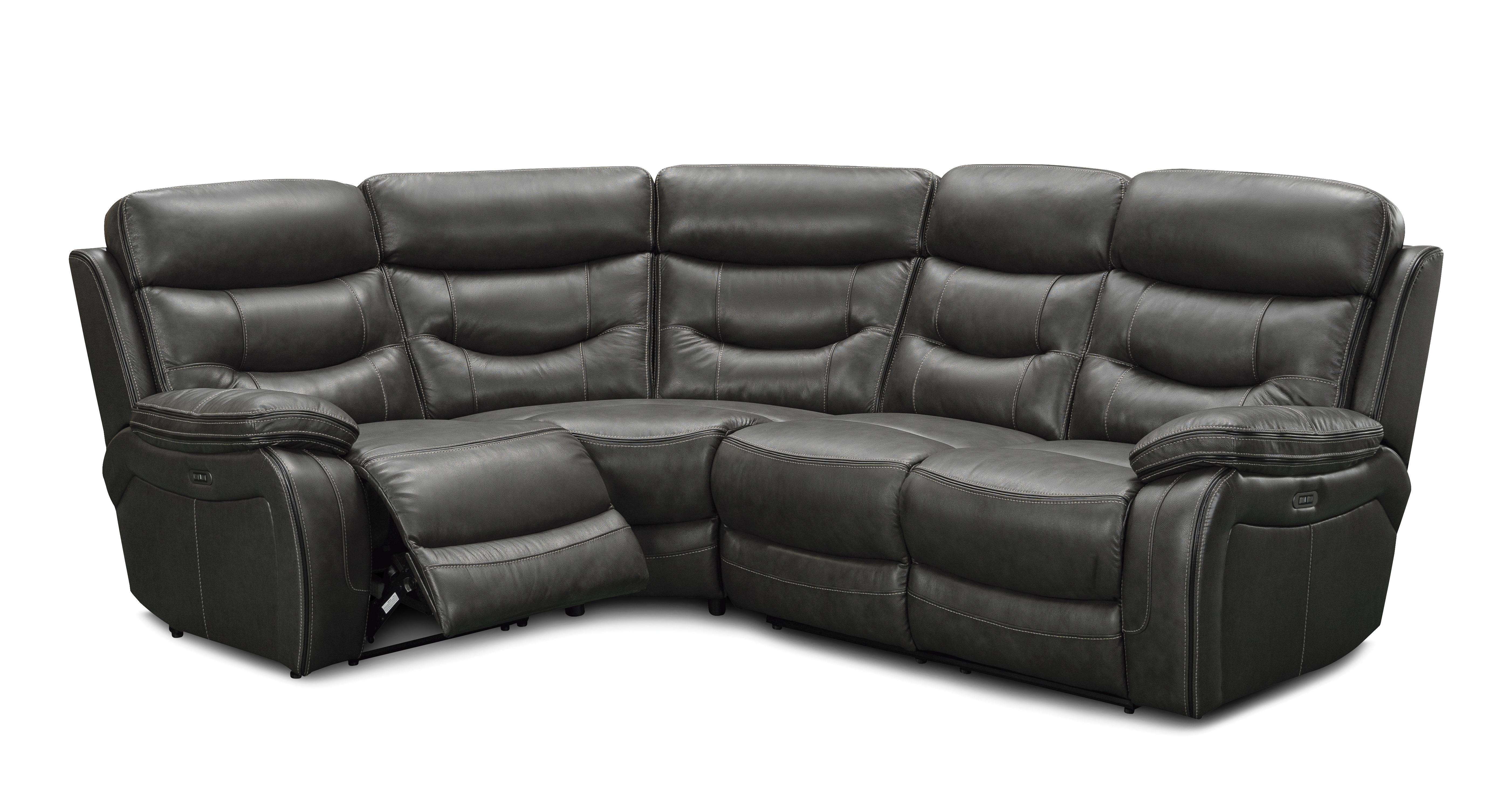 Picture of: Noah Right Hand Facing 2 Corner 1 Power Double Recliner Opulent Dfs