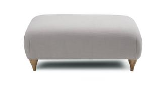 Nouvelle Plain Large Footstool