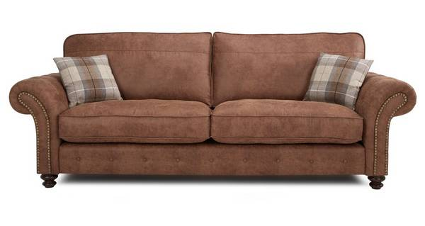 Oakland 4 Seater Formal Back Sofa