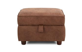 Plain Storage Footstool Oakland (Oakland)