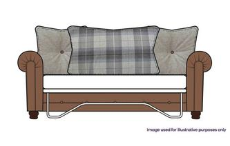 Pillow Back 3 Seater Sofa Bed