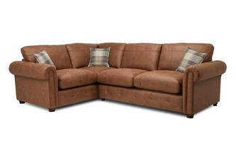 Formal Back Right Hand Facing 3 Seater Corner Sofa Bed