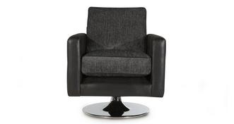 Oberon Plain Small Swivel Chair