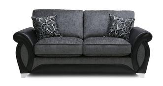 Oberon 2 Seater Formal Back Deluxe Sofa Bed