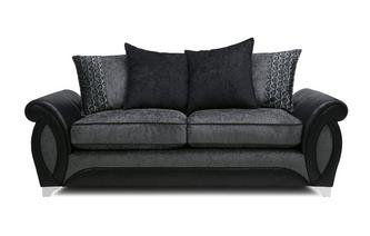 3 Seater Pillow Back Sofa Oberon