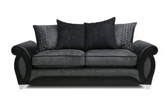3 Seater Pillow Back Sofa Oberon