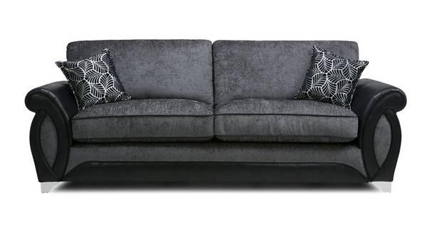 Oberon 4 Seater Formal Back Sofa