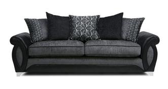 Oberon 4 Seater Pillow Back Sofa