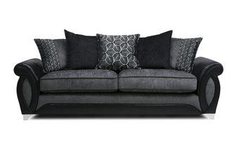 4 Seater Pillow Back Sofa Oberon