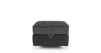 Oberon Plain Top Storage Footstool