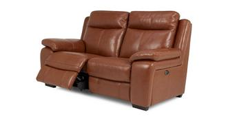 Octavious Leder en lederlook 2-zits elektrische recliner