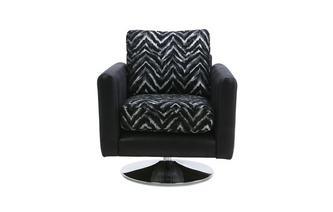 Pattern Swivel Chair