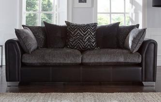 Odell Pillow Back 4 Seater Sofa Odell