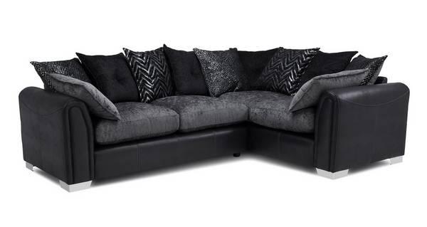 Odell Pillow Back Left Hand Facing 3 Seater Corner Sofa Dfs