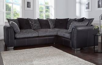 Odell Pillow Back Left Hand Facing Corner Deluxe Sofa Bed Odell