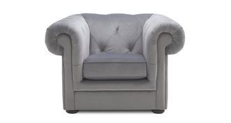 Opera Velvet Armchair