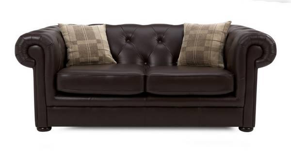 Opera Leather 2 Seater Sofa