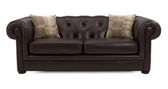Opera Leather 3 Seater Sofa