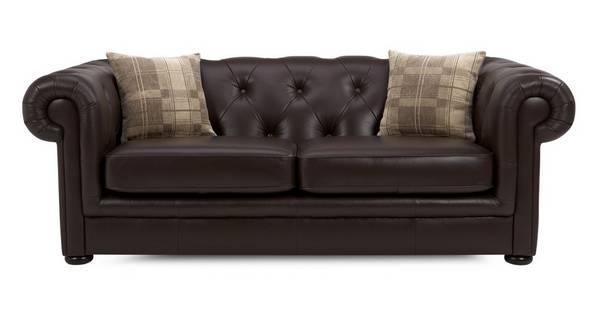 Opera Leather 3 Seater Sofa
