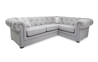 Left Arm Facing 2 Piece Corner Sofa