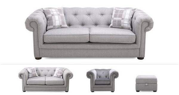 Opera Clearance 3 Seater, 2 Seater Sofabed, Chair & Stool