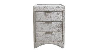Opulent 3 Drawer Bedside Cabinet