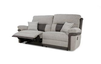 3 Seater Manual Recliner Orion