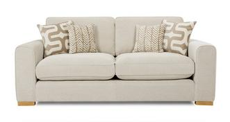 Oslo 3 Seater Formal Back Sofa