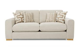 3 Seater Formal Back Sofa Oslo