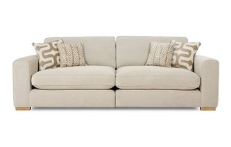 4 Seater Formal Back Split Sofa Oslo