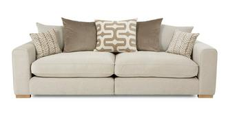 Oslo 4 Seater Pillow Back Split Sofa