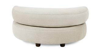Oslo Crescent Moon Footstool