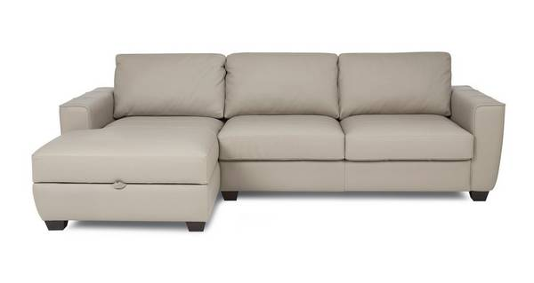 Otto Left Hand Facing Storage Chaise Sofa