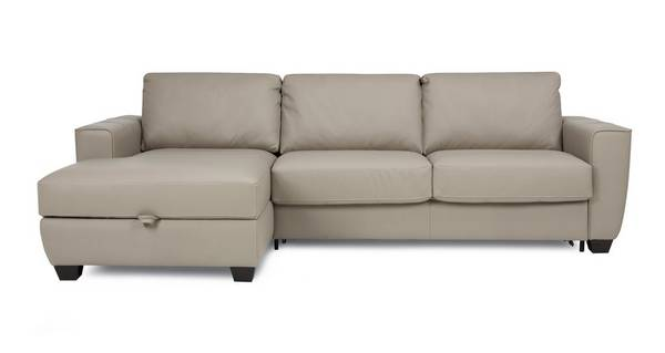 Otto Left Hand Facing Storage Chaise Sofa Bed