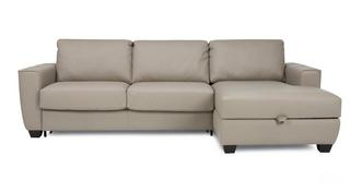 Otto Right Hand Facing Storage Chaise Sofa Bed