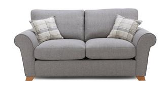 Owen Formal Back 2 Seater Sofa Bed