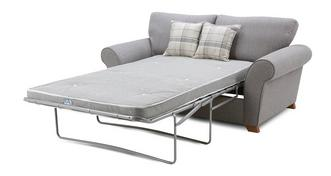 Owen Formal Back 2 Seater Deluxe Sofa Bed