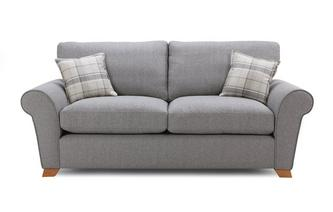 Formal Back 3 Seater Sofa Owen