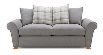 Owen Pillow Back 3 Seater Sofa